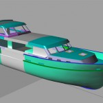 Anna | Design and lengthening of hull