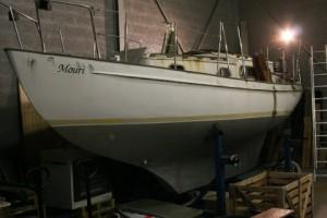 SY Mouri; complete overhaul; still in progress