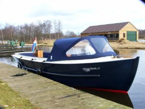 Ottersloep; complete design and production; 5 built and still operational in Giethoorn