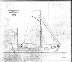 kleijwegdesign-sailplan-botter