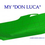 MY Don Luca; photogrammetry hull form and deckhouse; 3D design