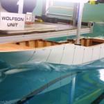 Resistance tanktests 43.5 m motoryacht